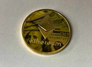 Ethereum golden coin