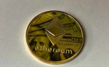 Ethereum golden coin